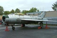 0813 @ LKKB - Mikoyan-Gurevich MiG-19P Farmer [650813] (Czech Air Force) Prague-Kbely~OK 08/09/2007 - by Ray Barber