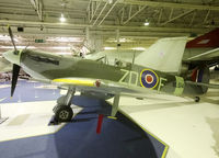 BL614 - Preserved inside London - RAF Hendon Museum - by Shunn311
