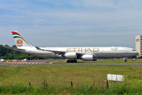A6-EHC @ LFPG - Airbus A340-541 [761] (Etihad Airways) Paris-Charles De Gaulle~F 17/06/2009 - by Ray Barber