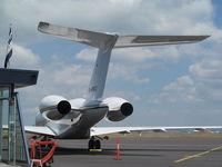 D-ARKO @ NZAA - rear end view - by magnaman