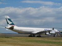 B-HXG @ NZAA - outside air NZ maintenance - by magnaman