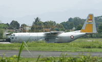 A-1317 - Waiting for engines installment at Husen Sastranegara Air Force Base - by Tommy P