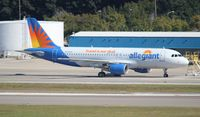 N222NV @ TPA - Allegiant Air A320