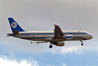 4K-AZ84 @ EGLL - Airbus A320-214 [3006] (Azerbaijan Airlines) Home~G 04/08/2013. On approach 27L. - by Ray Barber