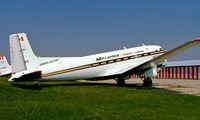 C-GGKE @ CYFD - Douglas DC-3C-117D [43366] (Millardair) Brantford~C 24/06/2005 - by Ray Barber