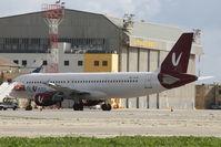 4L-AJD @ LMML - A320 4L-AJD Flyvista - by Raymond Zammit