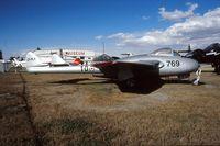 CF-RLK @ CYYC - CF-RLK on display outside at the Aerospace Museum of Calgary in 1996. - by Alf Adams