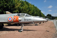 06 @ N.A. - Dassault Mirage IIIA 06 preserved at the Chateau de Savigny aircraft museum. - by Henk van Capelle