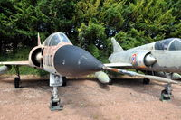 50 @ N.A. - Dassault Mirage IIIC of the French Air Force preserved at the Chateau de Savigny aircraft museum. - by Henk van Capelle