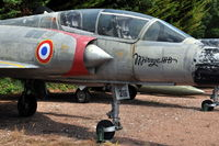 216 @ N.A. - Dassault Mirage IIIB two-seater fighter of the French Air Force at the Chateau de Savigny aircraft museum. - by Henk van Capelle