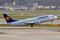 D-ABEW @ LSZH - Boeing 737-330 [27905] (Lufthansa) Zurich~HB 05/04/2009 - by Ray Barber