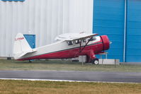C-FNWK @ CYNJ - In for maintenance - by Guy Pambrun
