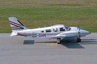OO-GHM @ EDNY - Piper PA-34-220T Seneca III [34-8133021] Friedrichshafen~D 03/04/2009