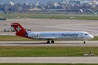 HB-JVF @ LSZH - Fokker F-100 [11466] (Helvetic Airways) Zurich~HB 05/04/2009