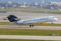D-AGPK @ LSZH - Fokker F-100 [11313] (Contact Air) Zurich~HB 05/04/2009