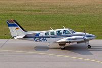 D-ICIM @ EDNY - Beech 58TC Turbo Baron [TK-48] Friedrichshafen~D 04/04/2009 - by Ray Barber