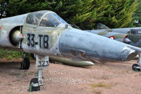 323 @ N.A. - Dassault Mirage IIIR of the French Air Force preserved at the Chateau de Savigny aircraft museum. - by Henk van Capelle