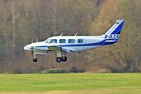 D-ILCA @ EDNY - Piper PA-31-325 Navajo C/R Friedrichshafen~D 03/04/2009 - by Ray Barber