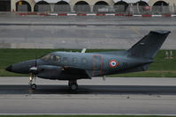 105 @ LMML - Emb121 Xingu 105/YU French Air Force - by Raymond Zammit