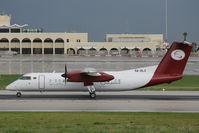 5A-DLX @ LMML - DHC-8 5A-DLX Petro Air - by Raymond Zammit