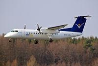 OE-LIE @ EDNY - De Havilland Canada DHC-8Q-315 Dash 8 [546] (Intersky) Friedrichshafen~D 03/04/2009