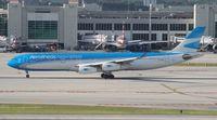 LV-CSD @ MIA - Aerolineas Argentinas A340-300