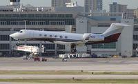 N36GV @ MIA - Gulfstream V