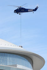 N4XY @ 1TX1 - Aerial crane work at AT&T Stadium - by Zane Adams