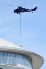 N4XY @ 1TX1 - Aerial crane work at AT&T Stadium