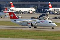 HB-IXO @ LSZH - BAe 146RJ-100 [E3284] ( Swiss European Air Lines) Zurich~HB 05/04/2009