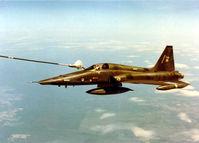 116738 - Taken from B707 inflight refueller over Saskatchewan, Canada in 1981. - by Alf Adams