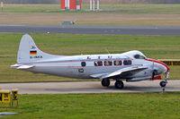 D-INKA @ EDNY - De Havilland DH.104 Devon C.2/2 [04266] Friedrichshafen~D 04/04/2009