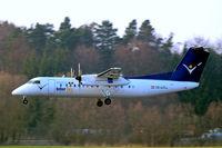 OE-LIC @ EDNY - De Havilland Canada DHC-8Q-314 Dash 8 [503] (Intersky) Friedrichshafen~D 03/04/2009