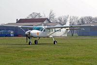 F-OHQM @ LSZR - Cessna 208B Grand Caravan [208B-0726] Altenrhein~HB 05/04/2009. Unmarked identity gotten from c/n plate.