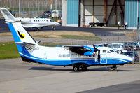 OK-SAS @ EDNY - Let L-410 UVP Turbolet [831040] (Skydive & Air Service) Friedrichshafen~D 03/04/2009