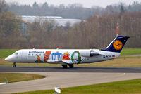 D-ACJH @ EDNY - Canadair CRJ-100LR [7499] (Lufthansa Regional) Friedrichshafen~D 04/04/2009 - by Ray Barber