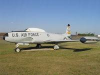 57-0616 @ KMOT - Displayed at the Dakota Territory Air Museum in 2006. - by Alf Adams