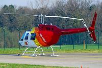 HB-XUW @ LSZH - Agusta-Bell AB.206B-3 Jet Ranger III [8722] (BB Heli) Zurich~HB 07/04/2009