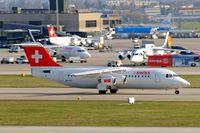 HB-IYZ @ LSZH - BAe 146-RJ100 [E3338] (Swiss European Air Lines) Zurich~HB 05/04/2009