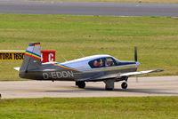 D-EDDN @ EDNY - Mooney M.20C Mark 21 [2595] Friedrichshafen~D 04/04/2009
