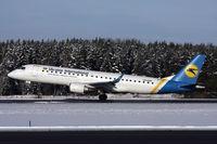 UR-EMA @ ARN - Landing runway 26. - by Anders Nilsson