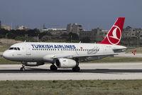 TC-JLV @ LMML - Departing runway 31 - by Roberto Cassar