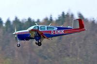 D-EMUK @ EDNY - Beech V35B Bonanza [D-9986] Friedrichshafen~D 03/04/2009