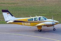 D-IEHB @ EDNY - Beech 95-B55 Baron [TC-1961] Friedrichshafen~D 04/04/2009