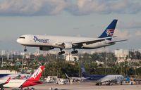 N316CM @ MIA - Amerijet 767-300