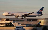 N316CM @ KMIA - Amerijet 767-300