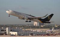 N327UP @ MIA - UPS 767-300