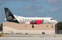 N348AG @ FLL - Silver Airways