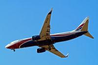 5N-MJN @ EGLL - Boeing 737-86N [35638] (Arik Air) Home~G 04/07/2010. On approach 27R. - by Ray Barber