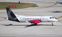 N435XJ @ FLL - Silver Saab 340